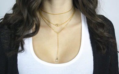 Mia Layered Necklace.