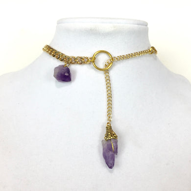 Vye Amethyst Necklace - Stinnys