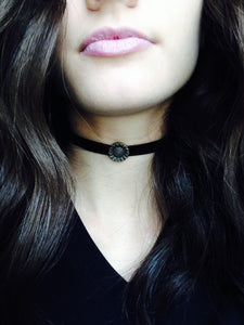 sunflower-choker