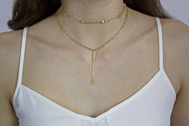 Lariat Edie Necklace.
