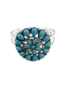 Turquoise Petal Bangle - Stinnys