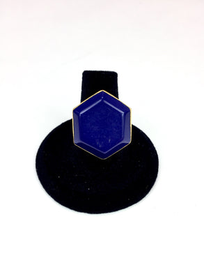 Lapis Hexogan Ring - Stinnys