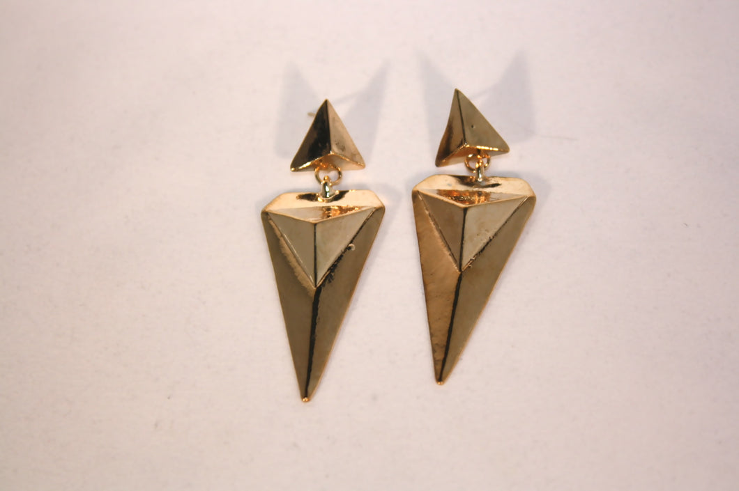 Triangle Drop Earrings - Stinnys