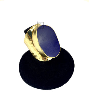 Lapis Stone Gold Ring.