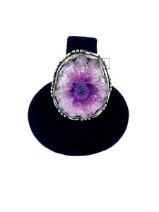 Purple Stone Agate.