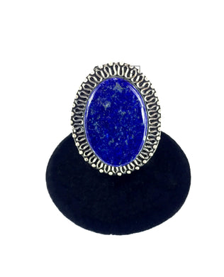 Lapis Oval Ring O.O.A.K..