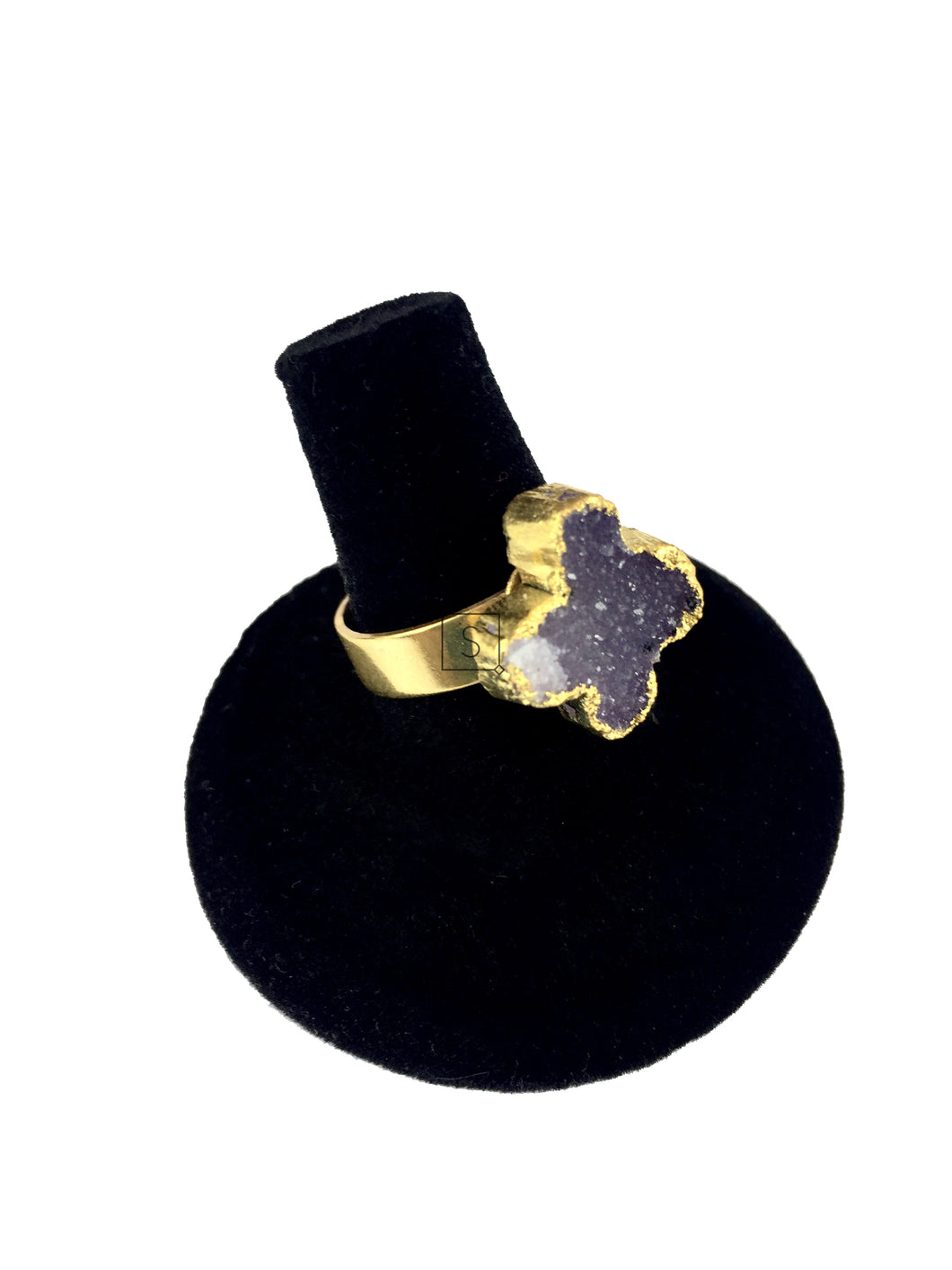 Durzy Cross Adjustable Ring O.O.A.K. - Stinnys
