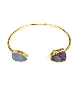 Two Faced Stone Bangle - Stinnys