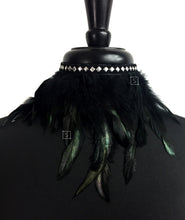 raven-feather-choker