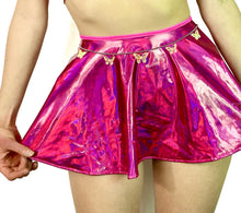 Hot N Holo Tie Skirt