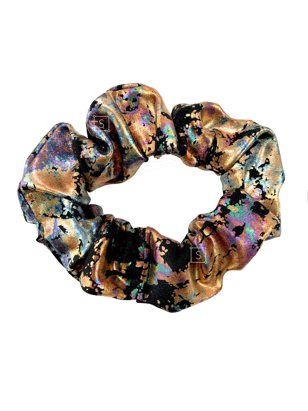 Burnt Oil Scrunchie