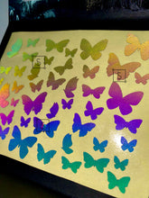 Reflective Butterfly Body & Face Stickers