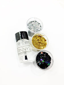 Metallic Iridescent Glitter Dust.