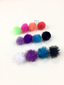 Jonet Pom Earrings - Stinnys