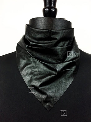 Gunner Faux Leather Bandana.