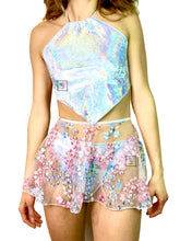 Bubble Blossom Tie Skirt