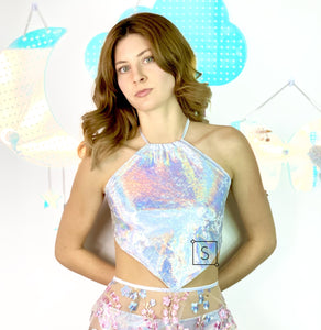 Holo Dreams Halter Top