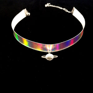 Saturn Halographic Choker - Stinnys