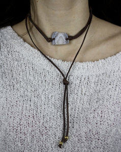 Mirabelle Bolo Necklace.