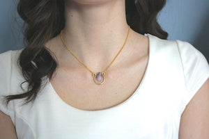 Raw Amethyst Necklace - Stinnys