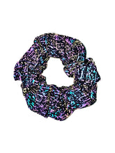Matrix Reflective Scrunchie.