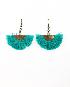 Mila Fringe Earrings