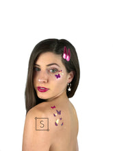 Butterfly Body & Face Stickers.