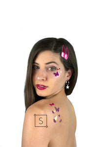 Butterfly Body & Face Stickers - Stinnys