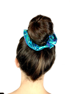 Pinned in Plaid Scrunchie