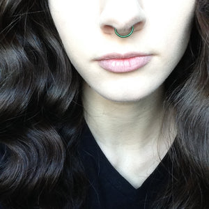 Color Septum Ring.
