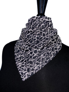Reflective Crackle Bandana