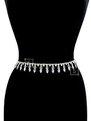Rosalind Rhinestone Belly Chain - Stinnys
