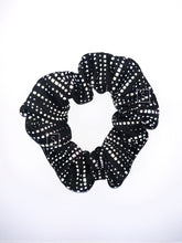 Static Waves Reflective Scrunchie