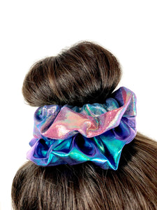 Scattered Rainbows Scrunchie.