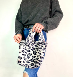 Snow Leopard Mini Purse