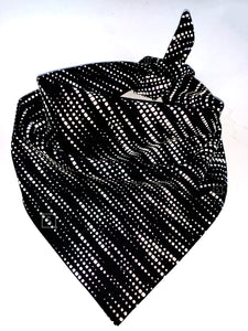 Static Waves Reflective Bandana