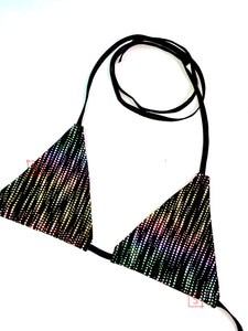 Static Waves Bikini Top