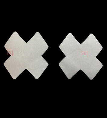 Reflective Cross Marks Pasties.