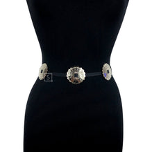Faux Leather Concho Belt - Stinnys