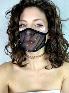 Mesh Me Around Mouth Mask.