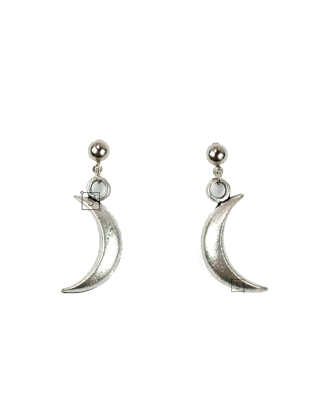 Crescent Moon Earrings - Stinnys