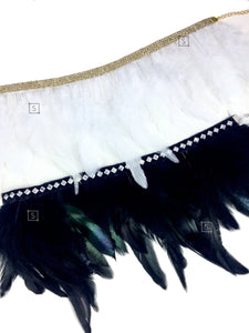 Raven Feather Choker - Stinnys