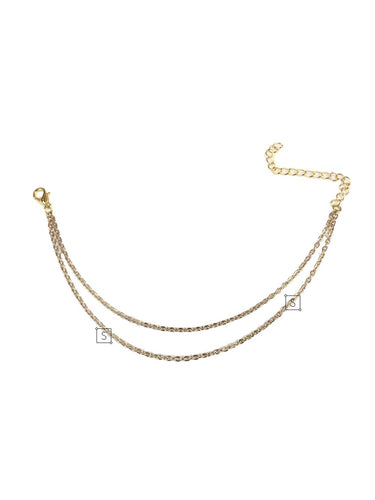 Two Chain Anklet - Stinnys