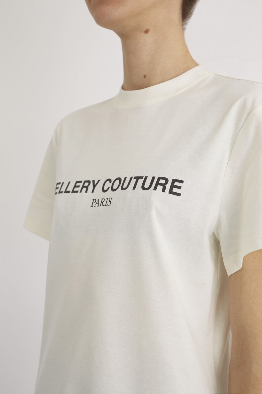Ellery Couture Tee Ivory