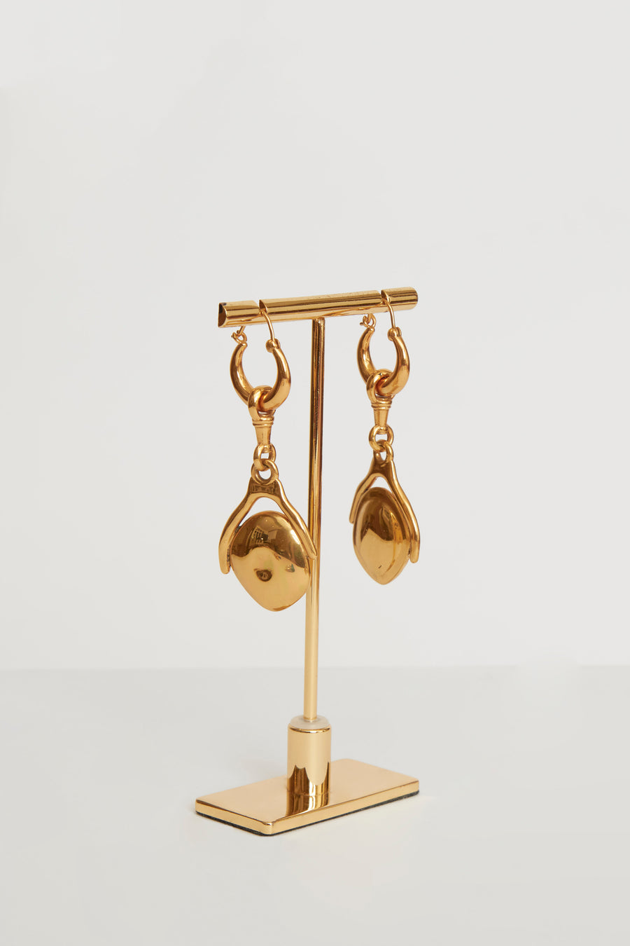 Isaac Small Disk Earrings