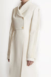 King For A Day Assymetrical Coat W Front Spilts