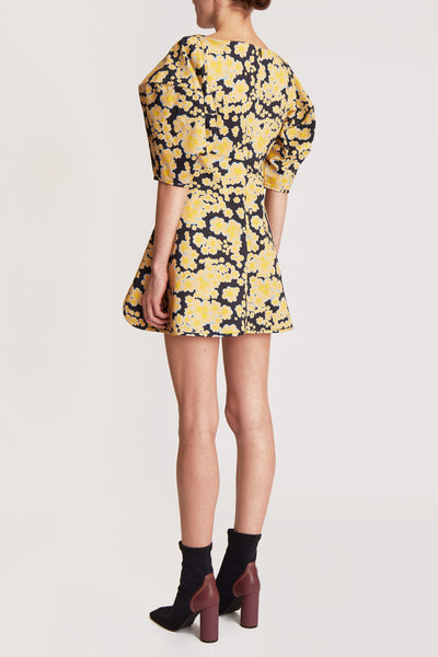 Deliberate Distance Cone Dress Floral