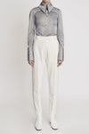 Cassandra Carrot Pant Side Trim Ivory