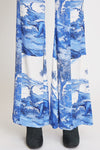 Water Cooler Fluid Pant Contrast Yoke Dino Blue