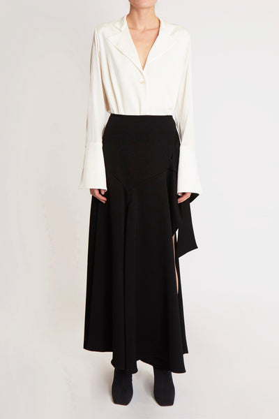 Faintest Sound Draped Skirt